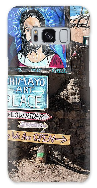 The Art Place In Chimayo Galaxy Case