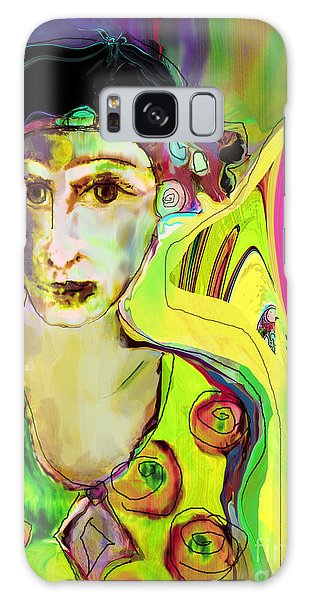 The Artist In Fauve Working Artist Galaxy Case
