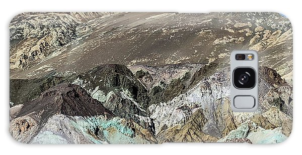 Galaxy Case featuring the photograph The Artists Palette Death Valley National Park by Michael Rogers