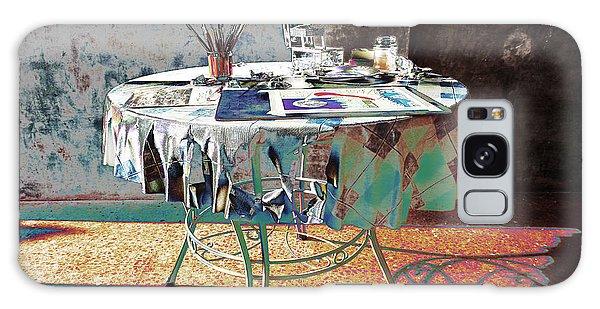 The Artists Table Galaxy Case by Don Pedro De Gracia