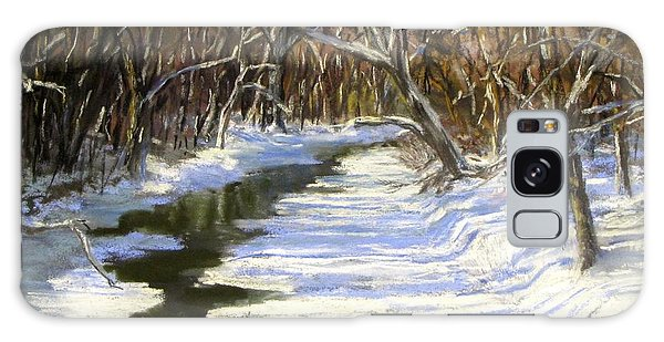 The Assabet River In Winter Galaxy Case