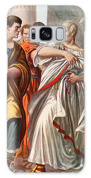 Ides Of March Galaxy Case - The Assassination Of Julius Caesar by Tancredi Scarpelli