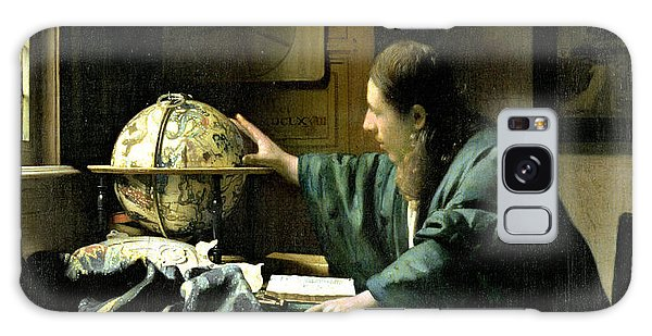 Jan Vermeer Galaxy Case - The Astronomer by Jan Vermeer