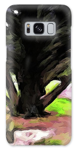The Avenue Of Trees 1 Galaxy Case