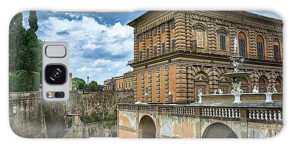 The Back Of The Pitti Palace In Florence Galaxy Case