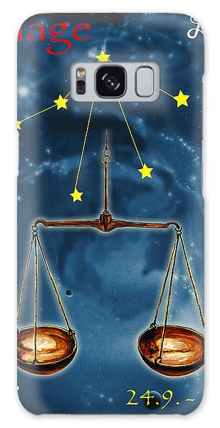 Galaxy Case - The Balance Of The Universe by Johannes Margreiter