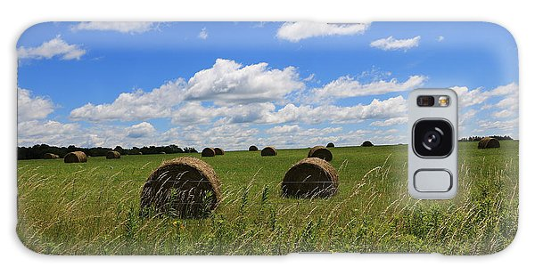 The Bales Of Summer Galaxy Case