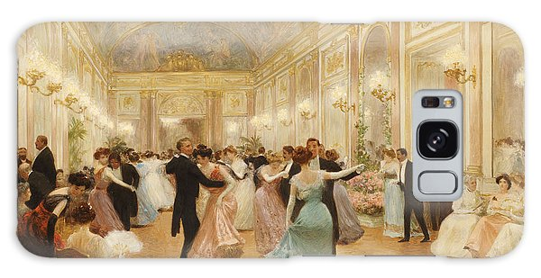 Evening Galaxy Case - The Ball by Victor Gabriel Gilbert