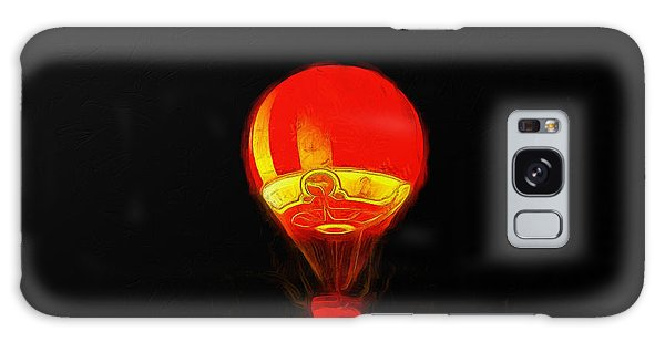 The Balloon At Night - Pa Galaxy Case