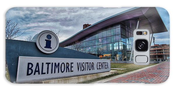 Galaxy Case featuring the photograph The Baltimore Visitors Center by Mark Dodd