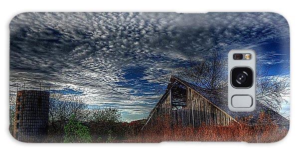 The Barn At Twilight Galaxy Case by Karen McKenzie McAdoo