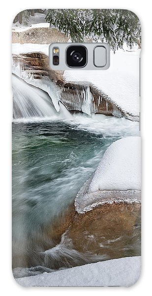 Galaxy Case featuring the photograph The Basin Side View Nh by Michael Hubley