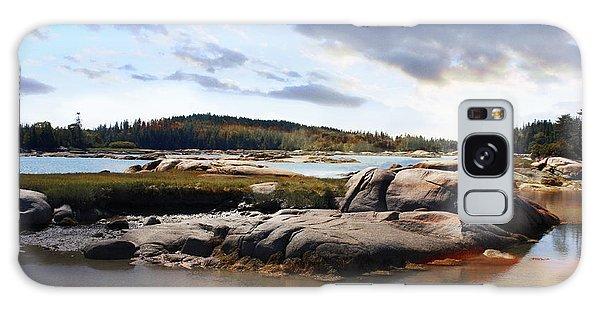 The Basin, Vinalhaven, Maine Galaxy Case