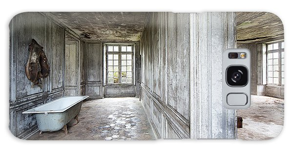 The Bathroom Next Door - Urban Exploration Galaxy Case by Dirk Ercken