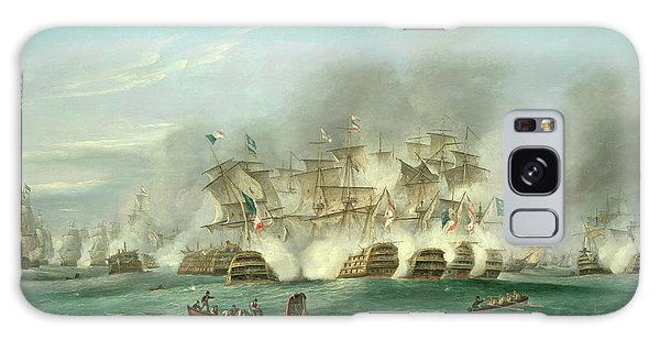 Tactical Galaxy Case - The Battle Of Trafalgar by Thomas Luny