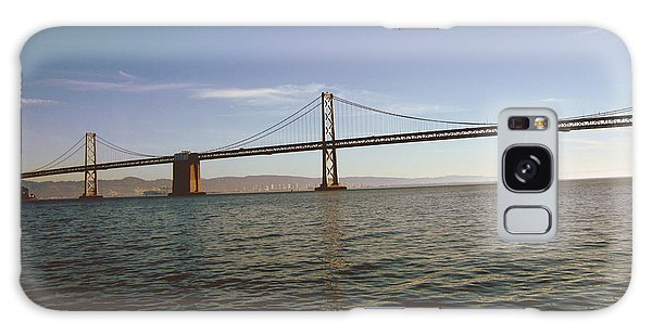 The Sky Galaxy Case - The Bay Bridge- By Linda Woods by Linda Woods