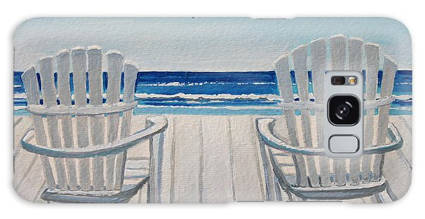 The Beach Chairs Galaxy Case