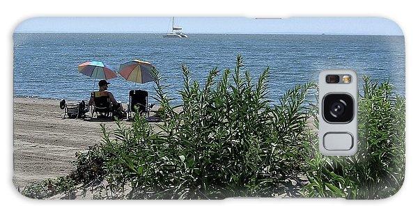 The Beach Galaxy Case by John Scates