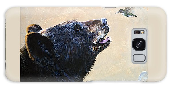 The Bear And The Hummingbird Galaxy Case