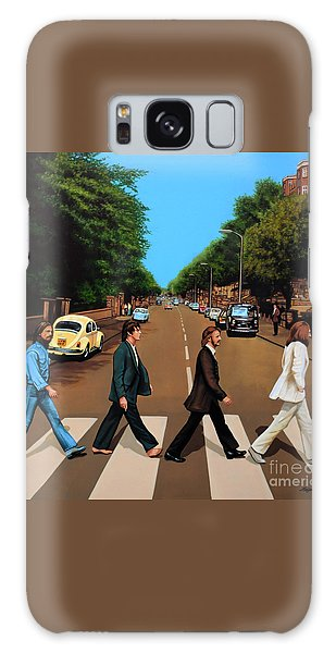Rock And Roll Galaxy S8 Case - The Beatles Abbey Road by Paul Meijering