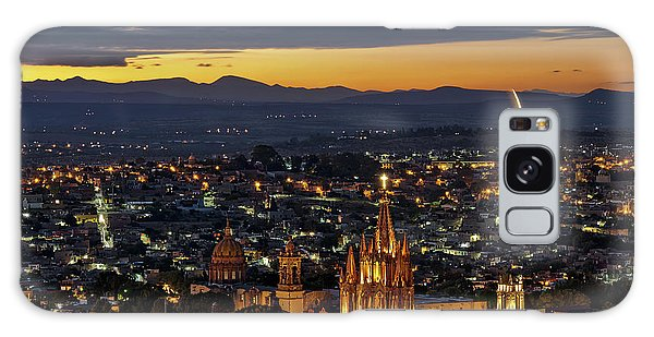 The Beautiful Spanish Colonial City Of San Miguel De Allende, Mexico Galaxy Case