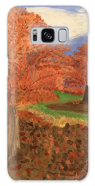 The Beauty Of Autumn  Galaxy Case