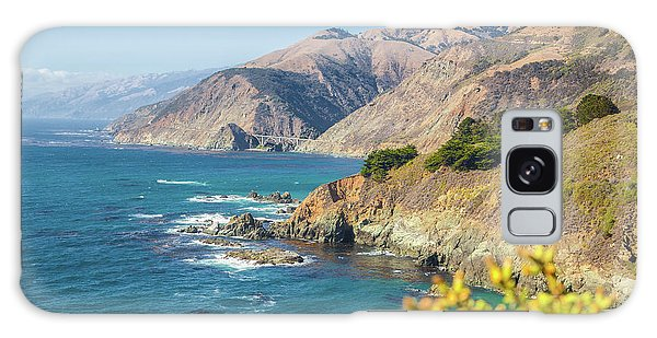 The Beauty Of Big Sur Galaxy Case by JR Photography