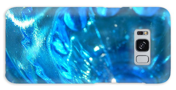 The Beauty Of Blue Glass Galaxy Case by Samantha Thome