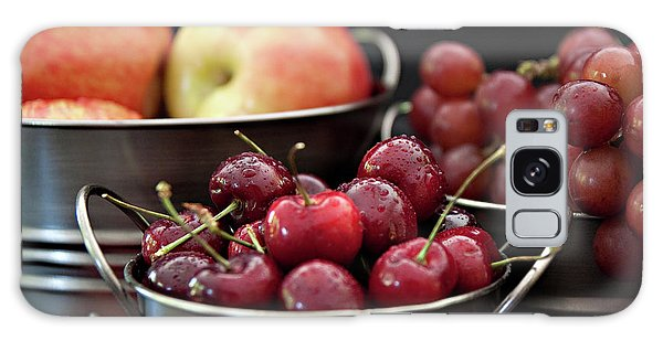 The Beauty Of Fresh Fruit Galaxy Case by Sherry Hallemeier