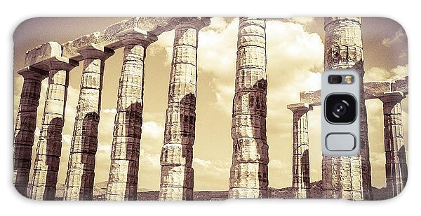 The Beauty Of The Temple Of Poseidon Galaxy Case