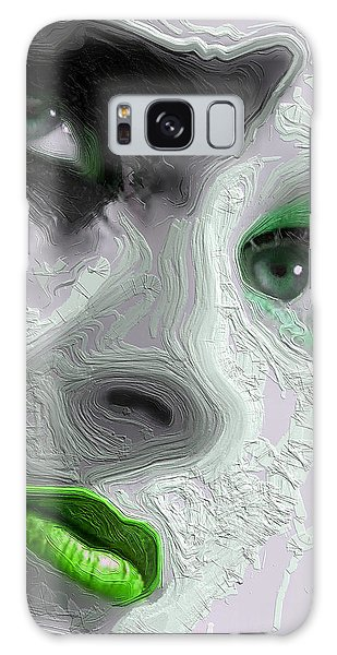 The Beauty Regime Green Galaxy Case by ISAW Gallery