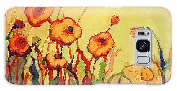 Floral Garden Galaxy Case - The Beckoning by Jennifer Lommers