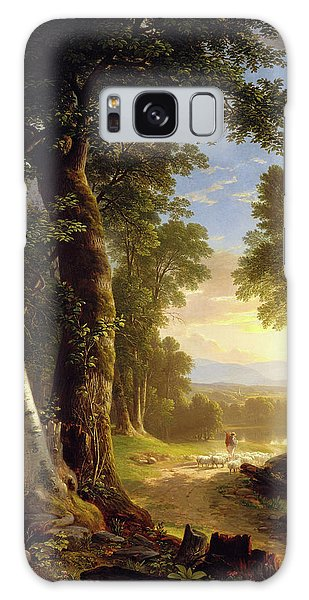 The Beeches By Asher Brown Durand Galaxy Case by Asher Brown Durand