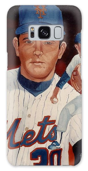 Galaxy Case featuring the painting From The Mets To The Rangers by Rosario Piazza