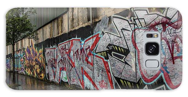 The Belfast Peace Wall Galaxy Case
