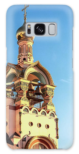 The Bell Tower Of The Temple Of Grand Duke Vladimir Galaxy Case