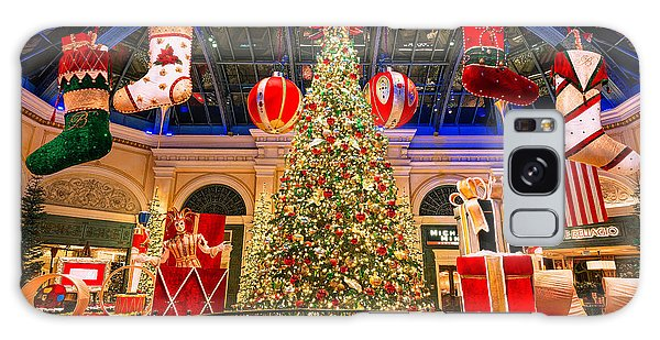 The Bellagio Christmas Tree 2015 Galaxy Case