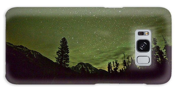 The Big Dipper Over Mount Moran Galaxy Case
