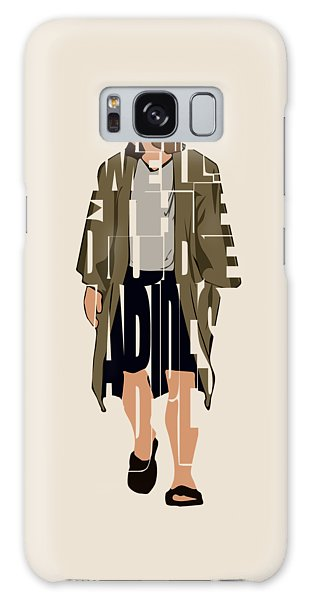 The Big Lebowski Inspired The Dude Typography Artwork Galaxy Case