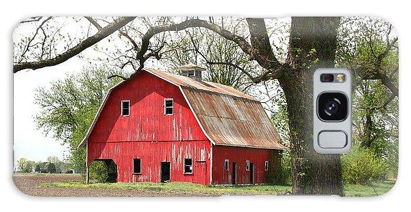 The Big Red Barn Galaxy Case