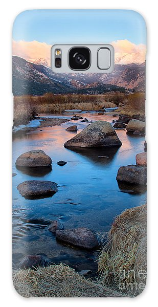 The Big Thompson River Flows Through Rocky Mountain National Par Galaxy Case