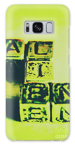 Aliens Galaxy Case - The Biggest Lie Ever Told by Jorgo Photography - Wall Art Gallery