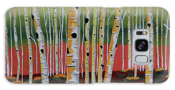 The Birch Forest Galaxy Case by Kathleen Sartoris