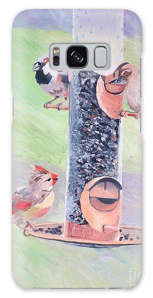 The Bird Feeder Galaxy Case
