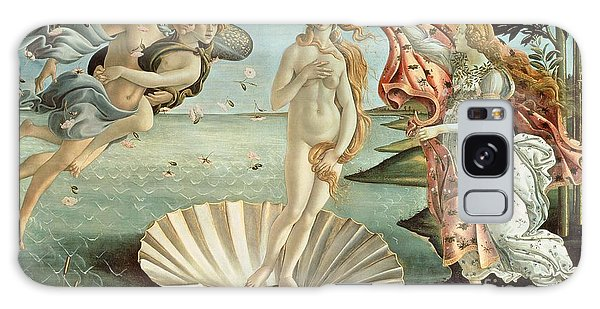 Venus Galaxy Case - The Birth Of Venus by Sandro Botticelli