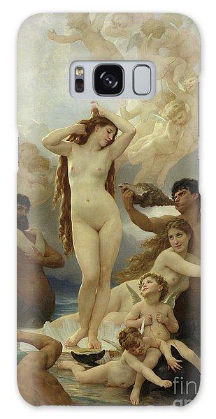 Dolphin Galaxy Case - The Birth Of Venus by William-Adolphe Bouguereau