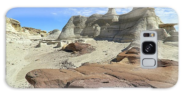 Galaxy Case featuring the photograph The Bisti Badlands - New Mexico - Landscape by Jason Politte