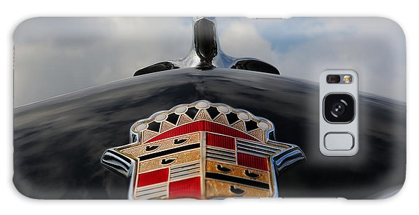 The Black Cadillac Angel - Cadillac Emblem  Galaxy Case