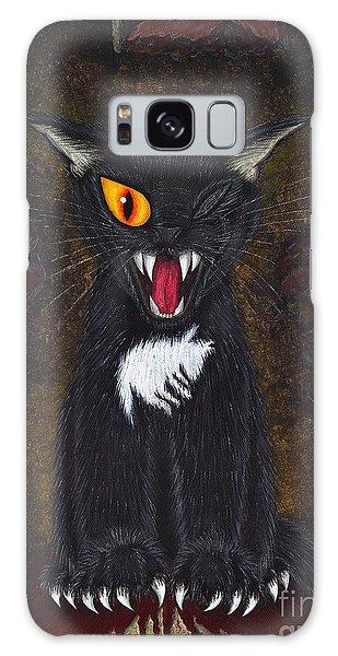 The Black Cat Edgar Allan Poe Galaxy Case