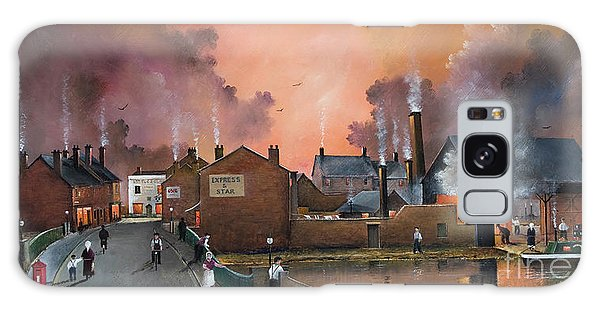 The Black Country Village Galaxy Case